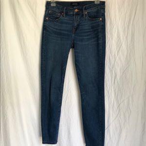 "J Crew Jeans. 8"" toothpick Fall 2018"